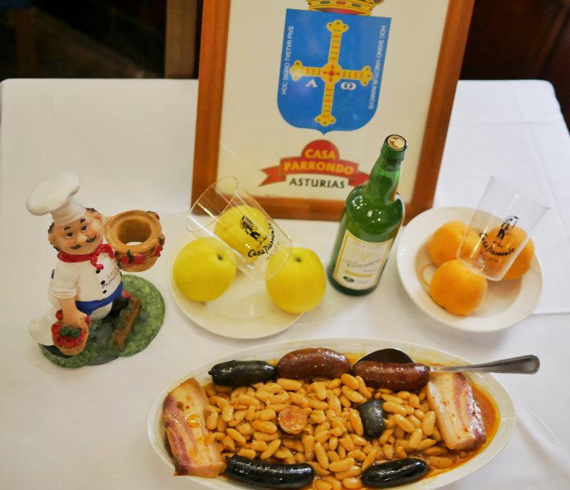 La Mejor Fabada Asturiana de Madrid, Restaurante Casa Parrondo