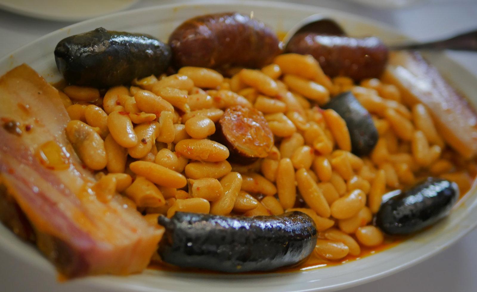 La mejor fabada asturiana de Madrid en el Restaurante Casa Parrondo